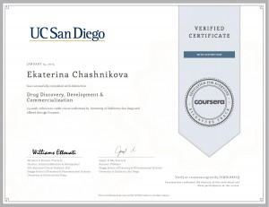 Coursera drugdiscovery 2015